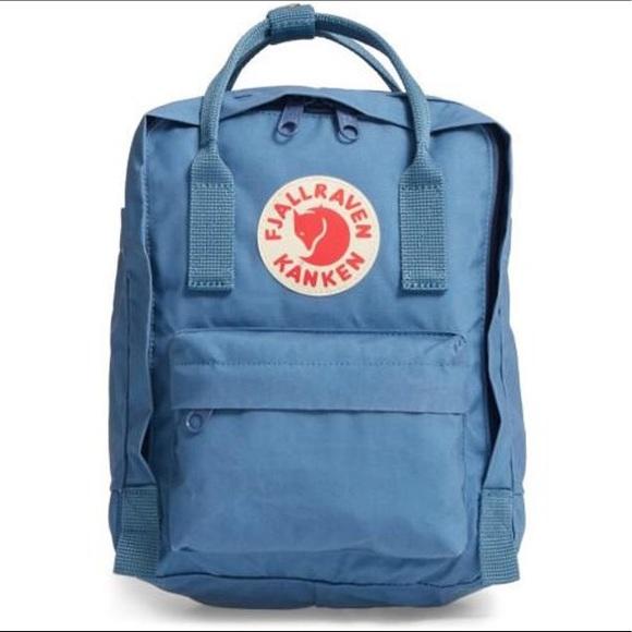 f6bcd2b1ebd Fjallraven Handbags - Fjällräven  Kånken  Water Resistant Backpack Blue